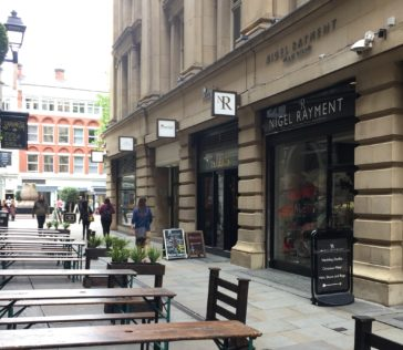 Therapy in Manchester, Old Bank Street