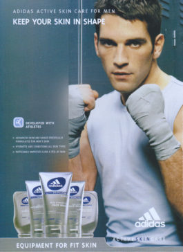Adidas Active Skincare Advert, 2004