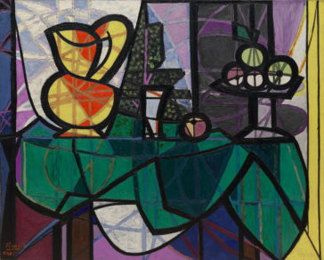 Picasso, Pitcher and Bowl of Fruit