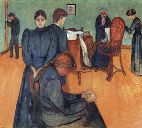 Munch's Death in the Sickroom